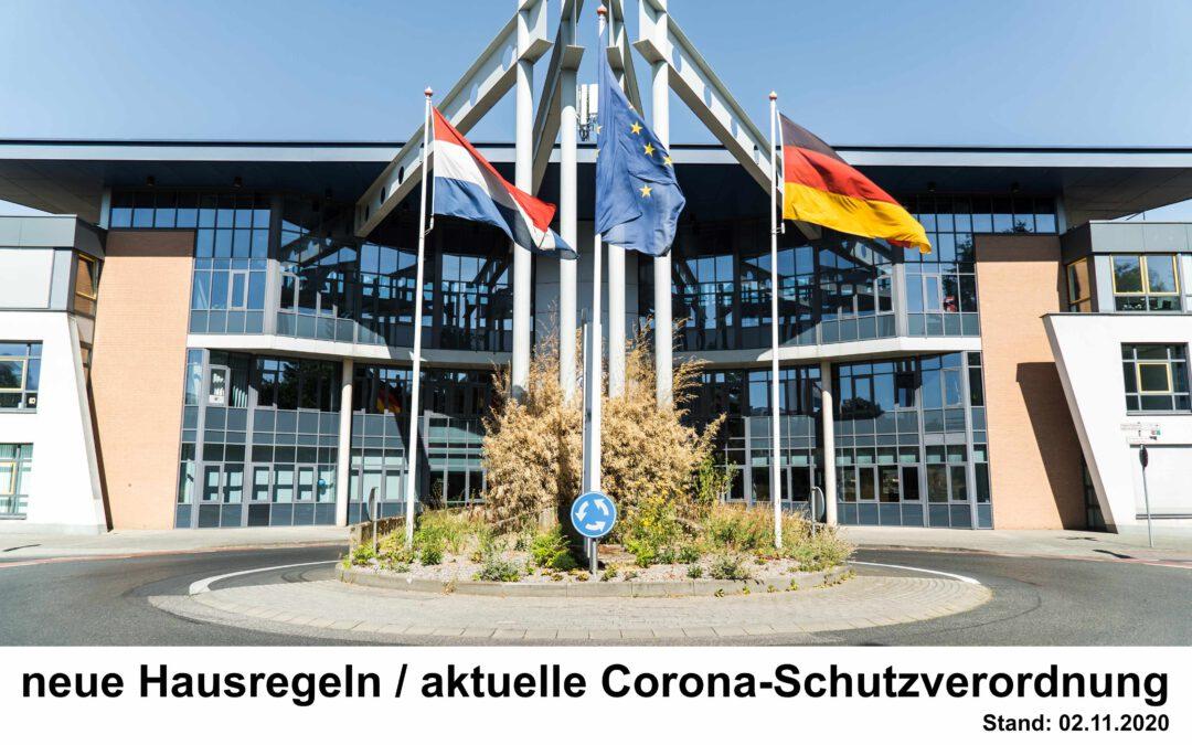 neue EBC Hausregeln / aktuelle Corona-Schutzmaßnahmen
